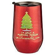 Thirty Fourth & Main Christmas Stemless Tumbler Tree