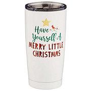 Thirty Fourth & Main Christmas Tumbler Merry