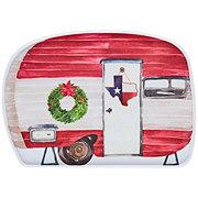Thirty Fourth & Main Melamine Christmas Camper Tray