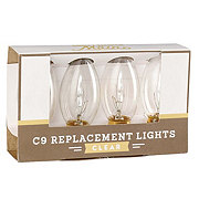 Thirty Fourth And Main Clear C9 Replacement Bulbs
