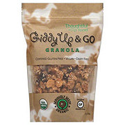Thoughtful Food Giddy Up & Go Organic Seriously Seedy Granola