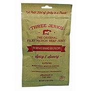 Three Jerks Jerky Memphis Brand BBQ