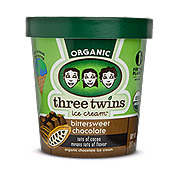 Three Twins Bittersweet Chocolate Ice Cream