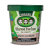 Three Twins Mint Confetti Ice Cream