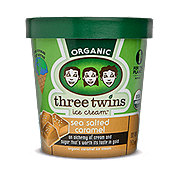 Three Twins Sea Salted Caramel Ice Cream