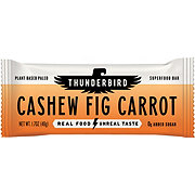 Thunderbird Energetica Cashew Fig Carrot Real Food Bar