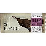 Thunderbird Energetica Epic Turkey Almond Cranberry Bar
