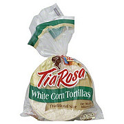 Tia Rosa White Corn Traditional Size Tortillas