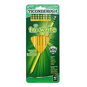 Ticonderoga Tri-Write Number 2 Pencils