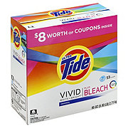 Tide Bleach Alternative Original Scent HE Turbo Powder Laundry Detergent 53 Loads