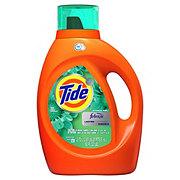 Tide Botanical Rain Scent Plus Febreze HE Liquid Laundry Detergent, 59 Loads