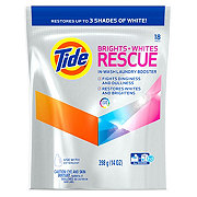 Tide Brights + Whites Rescue HE In-Wash Laundry Booster Pacs