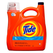 Tide Clean Breeze HE Turbo Clean Liquid Laundry Detergent 96 Loads