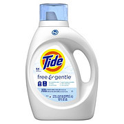 Tide Free & Gentle HE Turbo Clean Liquid Laundry Detergent 64 Loads