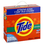 Tide Mountain Spring Powder Laundry Detergent 102 Loads