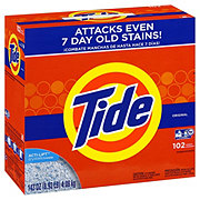 Tide Original Scent HE Powder Laundry Detergent 102 Loads
