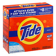 Tide Original Scent HE Powder Laundry Detergent 68 Loads