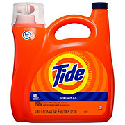 Tide Original Scent HE Turbo Clean Liquid Detergent, 96 Loads