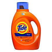 Tide Original Scent HE Turbo Clean Liquid Laundry Detergent 64 Loads