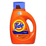 Tide Original Scent Turbo Clean HE Liquid Laundry Detergent, 32 Loads