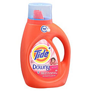Tide Plus Downy April Fresh HE Turbo Clean Liquid Detergent, 24 Loads