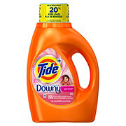 Tide Plus Downy April Fresh Liquid Laundry Detergent 24 Loads