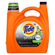 Tide Plus Febreze Active Fresh Sport Freshness Liquid Detergent, 72 Loads
