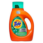 Tide Plus Febreze Botanical Rain Scent HE Turbo Clean Liquid Laundry Detergent 29 Loads