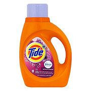 Tide Plus Febreze Fresh Spring & Renewal Freshness Liquid Detergent 24 Loads