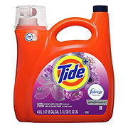 Tide Plus Febreze Freshness Spring & Renewal Scent HE Turbo Clean Liquid Laundry Detergent, 72 Loads