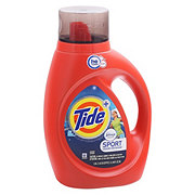 Tide Plus Febreze Sport Odor Defense Active Fresh Scent HE Turbo Clean Liquid Laundry Detergent 24 Loads