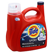 Tide Plus Febreze Sport Odor Defense Active Fresh Scent HE Turbo Clean Liquid Laundry Detergent 72 Loads