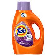Tide Plus Febreze Spring & Renewal Freshness HE Turbo Liquid Laundry Detergent, 24 Loads