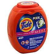 Tide PODS Fresh Coral Blast Scent HE Laundry Detergent Pacs