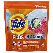Tide PODS HE April Fresh Scent Plus Downy Laundry Detergent Pacs