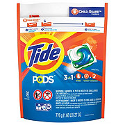 Tide PODS HE Turbo Liquid Detergent Pacs HE Original Scent