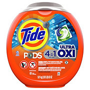 Tide PODS HE Ultra Oxi Laundry Detergent Pacs