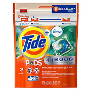 Tide PODS Liquid Detergent Pacs with Febreze HE Botanical Rain