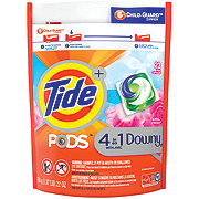 Tide PODS Plus Downy HE Turbo Laundry Detergent Pacs HE April Fresh Scent