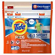 Tide PODS Plus Febreze Sport Odor Defense Laundry Pacs HE Active Fresh Scent