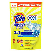 Tide PODS Simply Clean & Fresh Refreshing Breeze HE Laundry Detergent Pacs