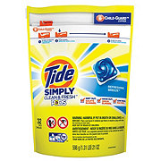 Tide PODS Simply Clean & Fresh Refreshing Breeze Laundry Detergent Pacs