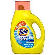 Tide Simply Clean & Fresh Refreshing Breeze Liquid Laundry Detergent 25 Loads