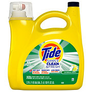 Tide Simply Clean & Fresh Daybreak Fresh HE Liquid Laundry Detergent, 89 Loads