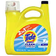 Tide Simply Clean & Fresh Refreshing Breeze HE Liquid Laundry Detergent, 89 Loads