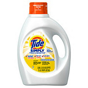 Tide Simply Free & Sensitive HE Liquid Laundry Detergent, 64 Loads
