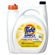 Tide Simply Free & Sensitive HE Liquid Laundry Detergent 89 Loads