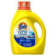 Tide Simply Oxi HE Refreshing Breeze Liquid Laundry Detergent 48 Loads