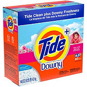 Tide Touch of Downy April Fresh Scent Powder Laundry Detergent 80 Loads