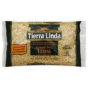Tierra Linda Letras (Alphabet Pasta)